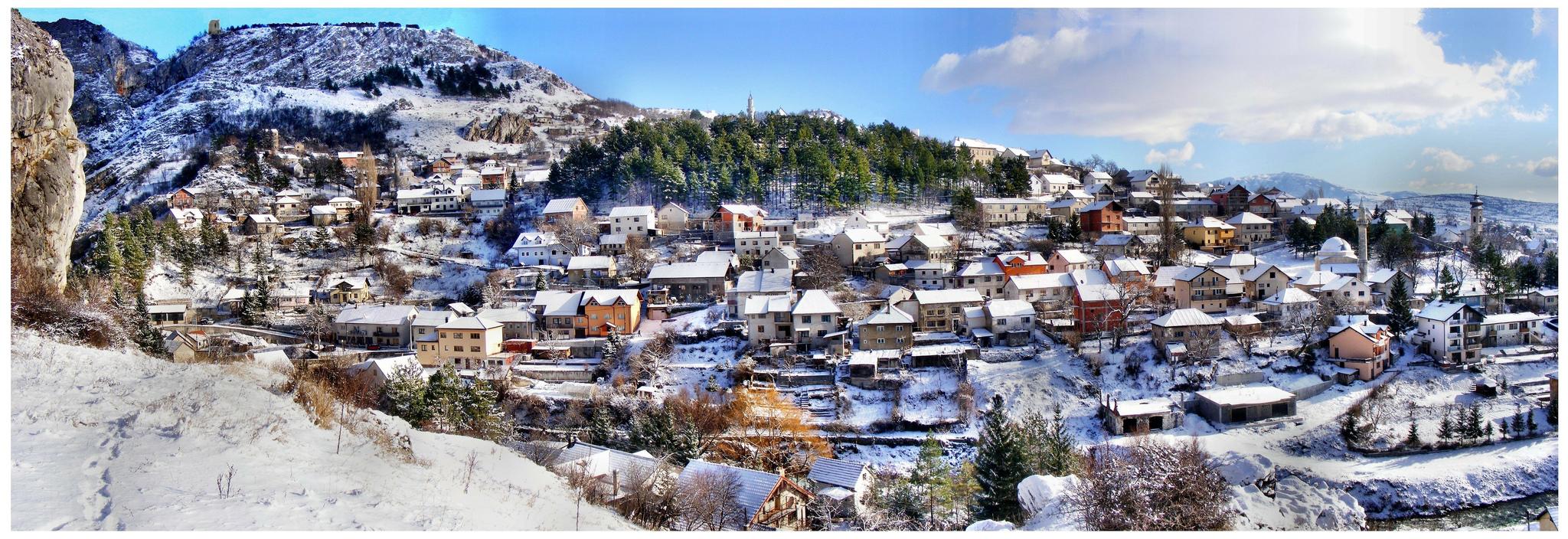 Bosna je kouzelná i v zimě, Brian Eager