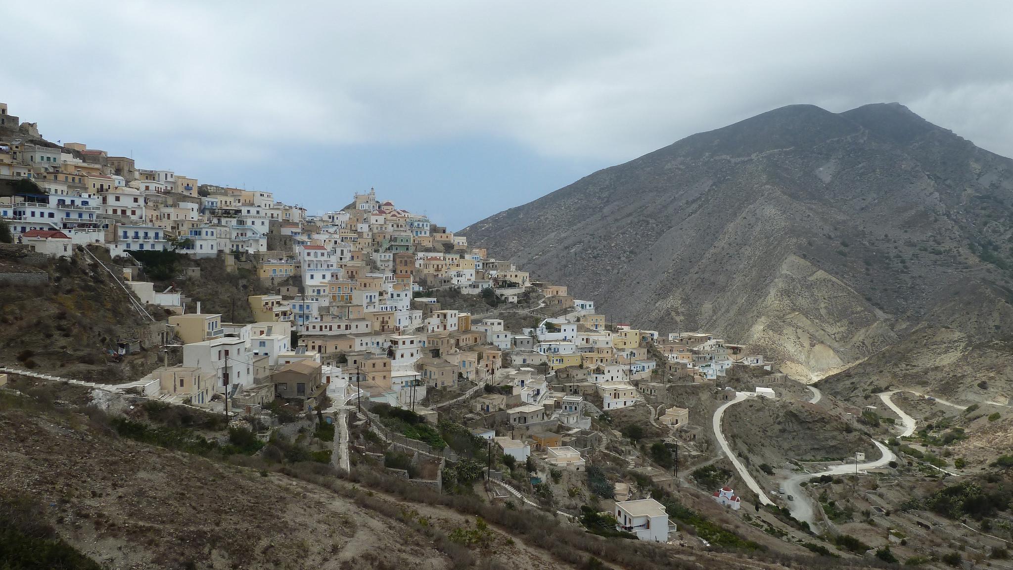 Vesnice Olympos, kde se zastavil čas, Kostas Limitsios