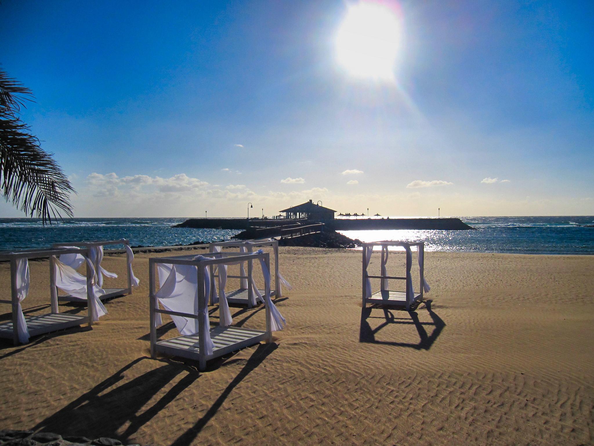 Servis na plážích je spíše doménou hotelů, Ronald Saunders