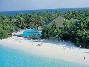pohádková atmosféra v Maledivách