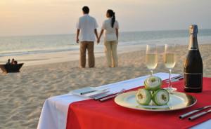 Oslavte Valentýna na pláži
