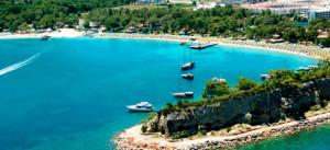 Turecká Antalya zajišťuje výbornou letní dovolenou /