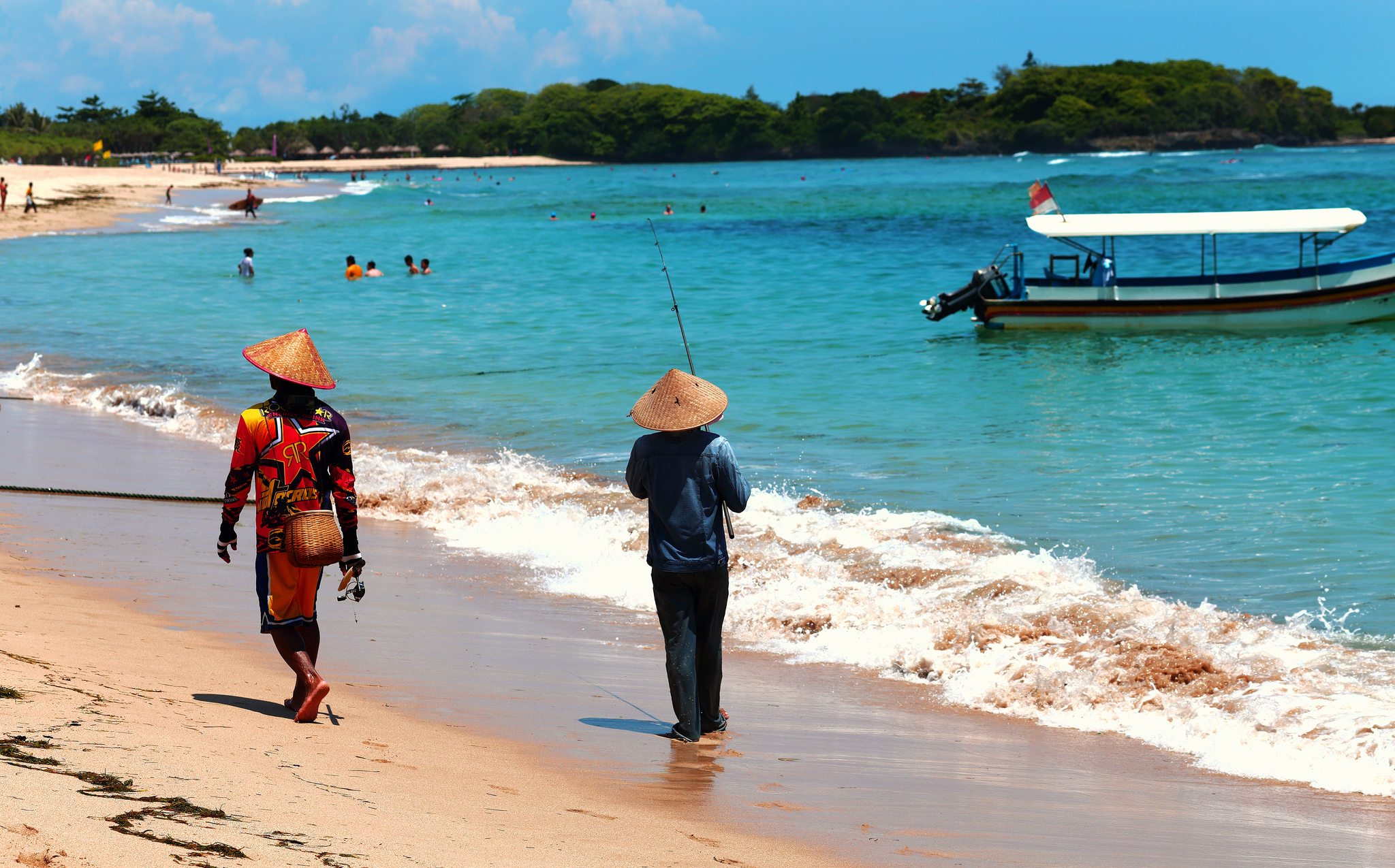 Pláž Nusa Dua,  Thomas Depenbusch