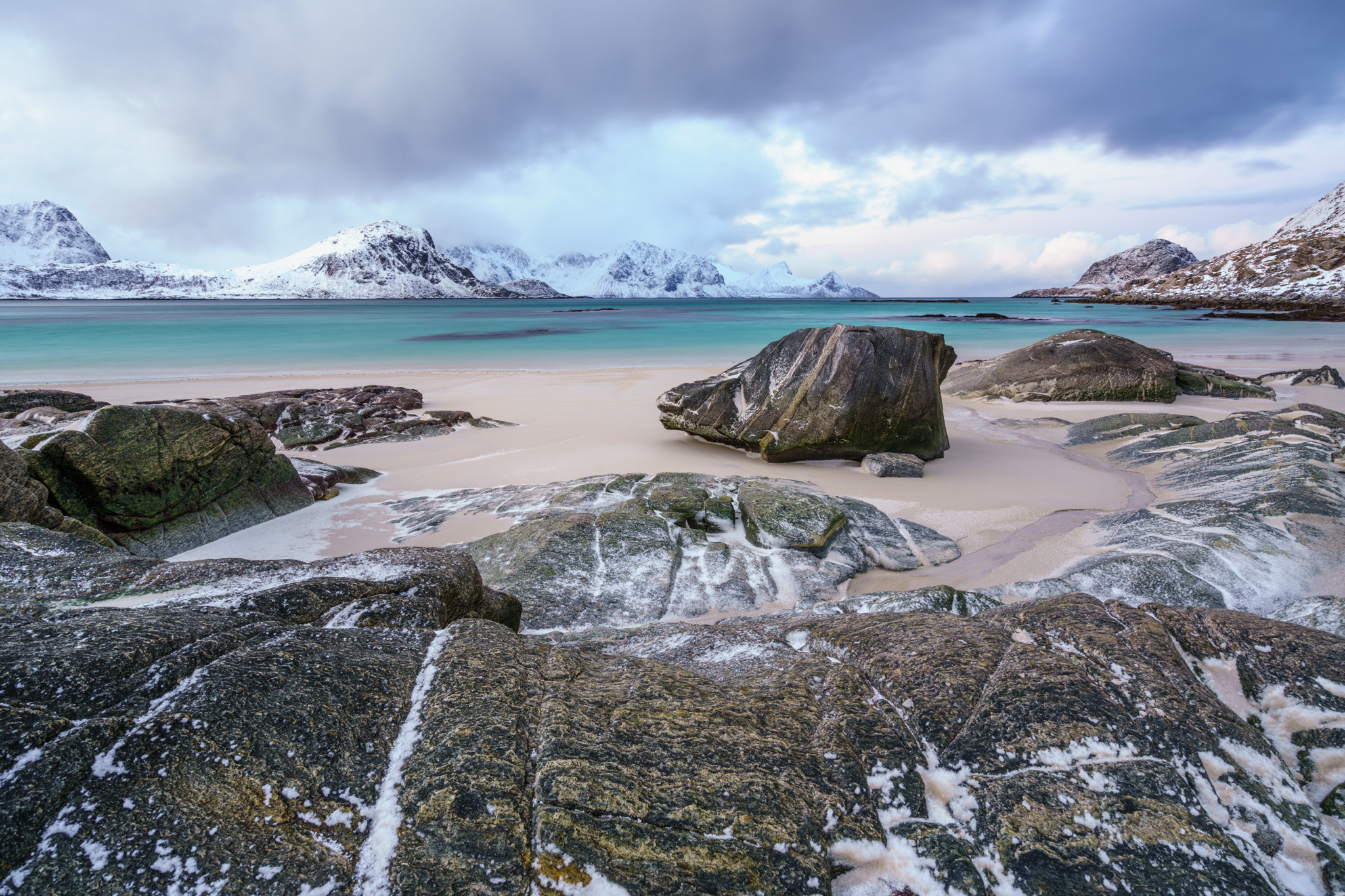 Pláž Haukland, Peter Edwards
