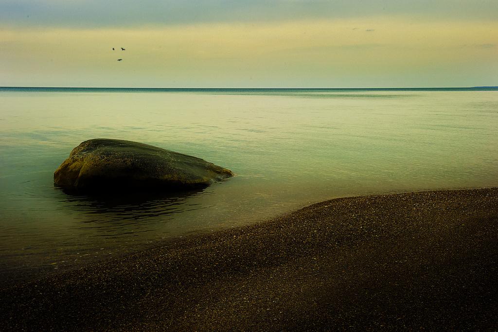 Huronské jezero a jeho břeh, Jimmy Brown