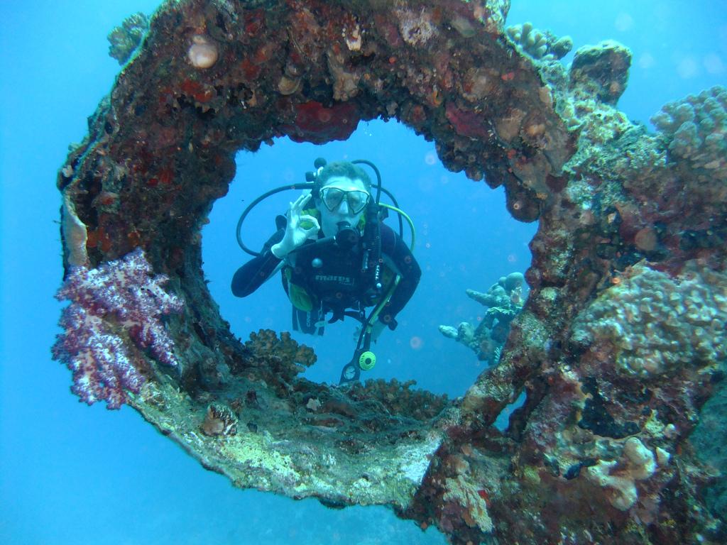 Potápění v Egyptě je pojem,  Richard Peck