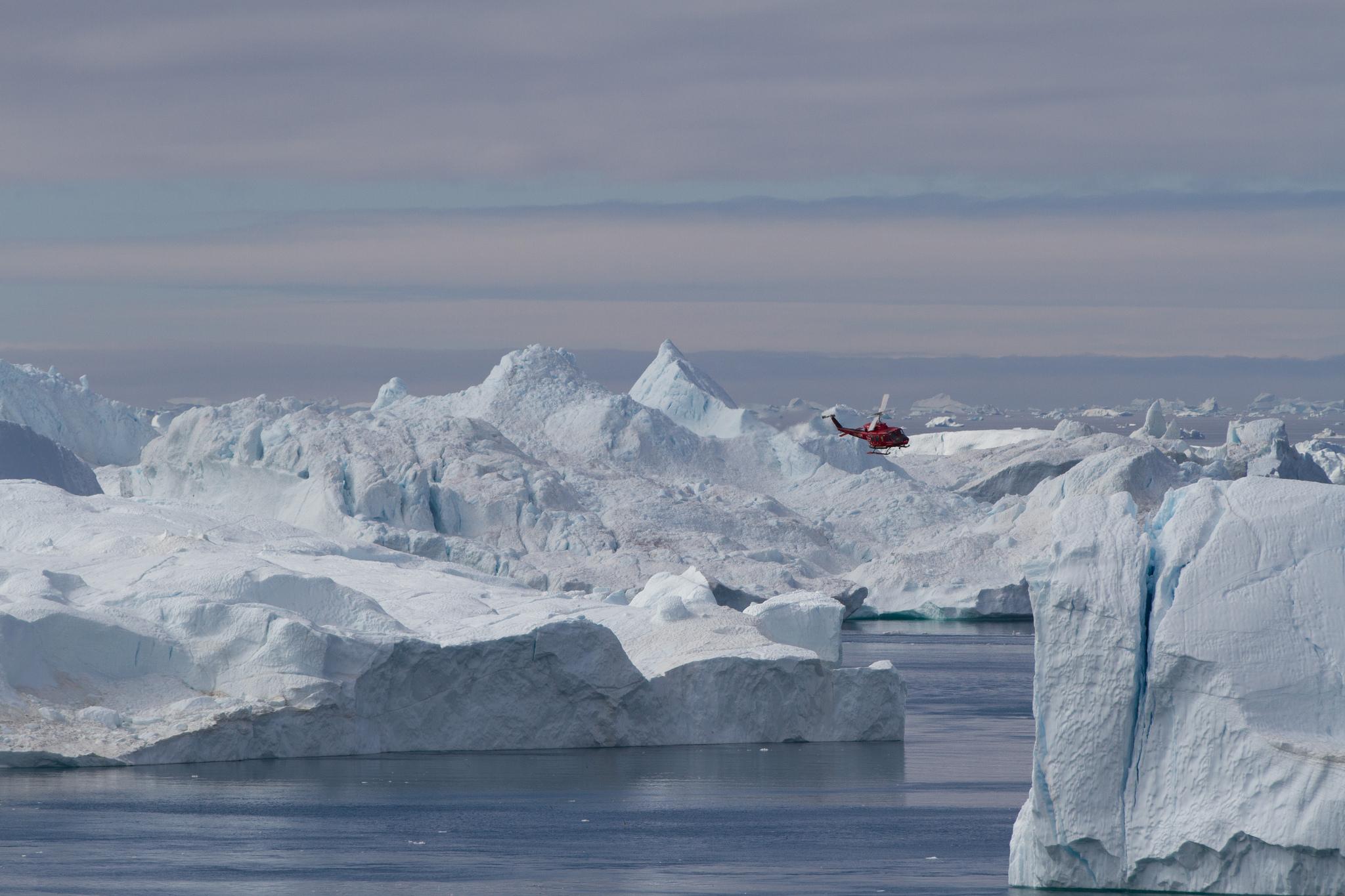 Ilullisat fjord, Kate Bum