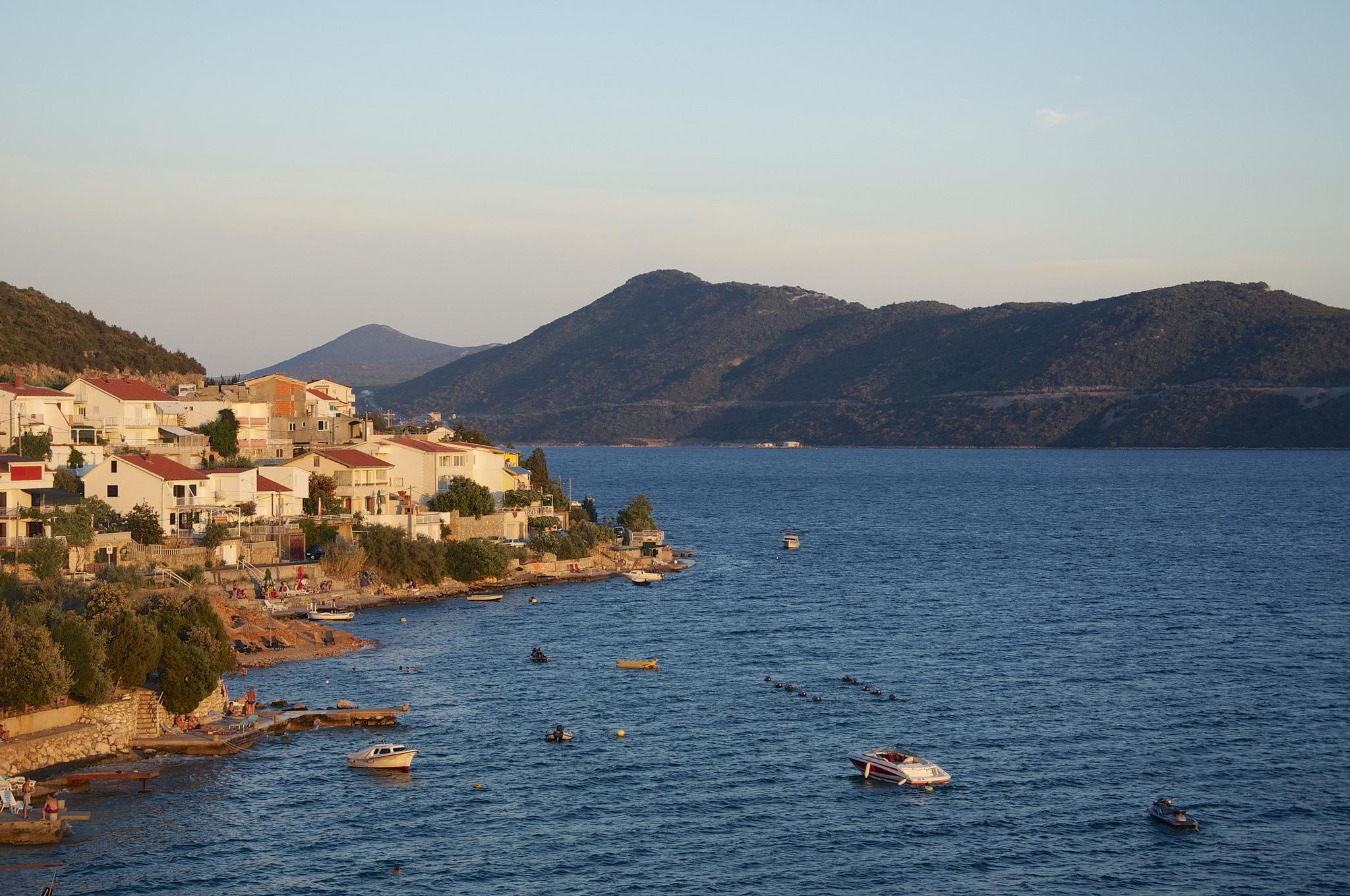 Bosenské pobřeží je velmi podobné tomu chorvatskému, Alessandro Giangiulio